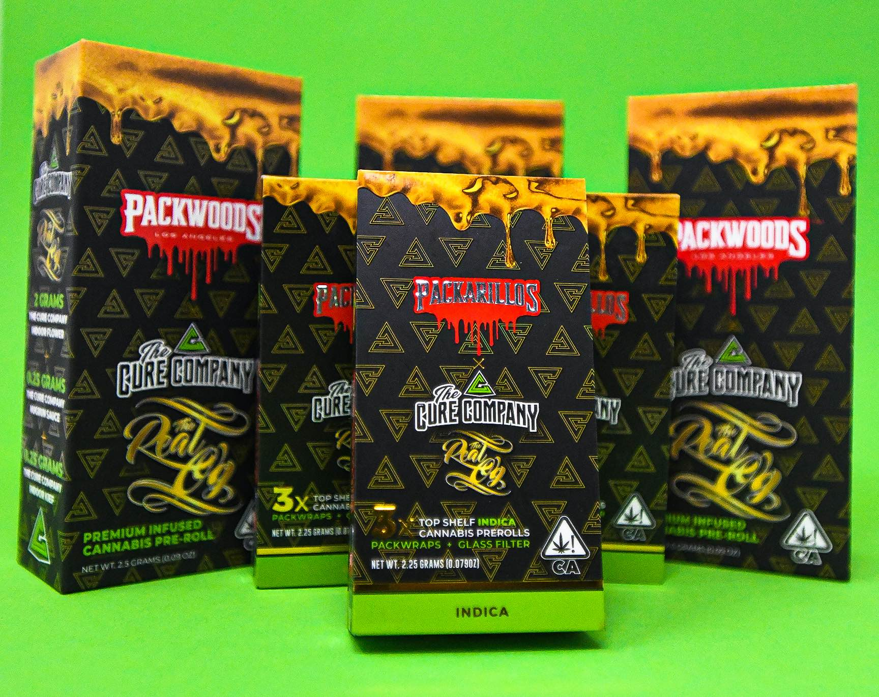The Cure Company x Packwoods: Real OG Strain Drop